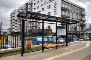 Eco-friendly bus stops pop-up in Gdynia