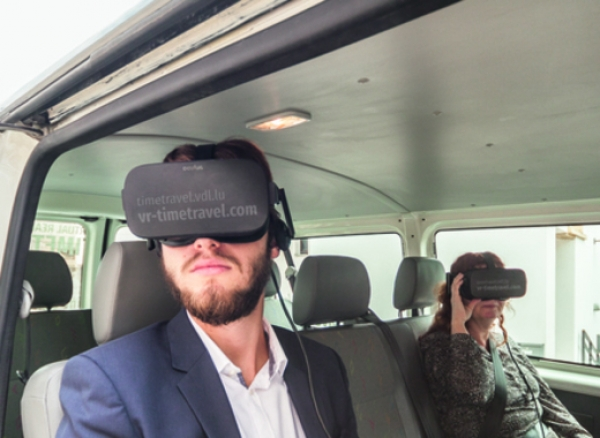 Time travel with Virtual Reality in Luxembourg