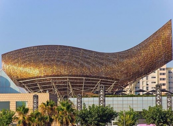 El Peix - one of the most striking landmarks on Barcelona's seafront